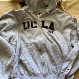 UCLA 1919 Hooded Zip UNISEX Sweatshirt-XL